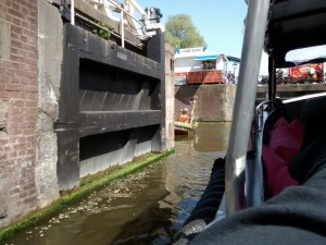 Canal busking