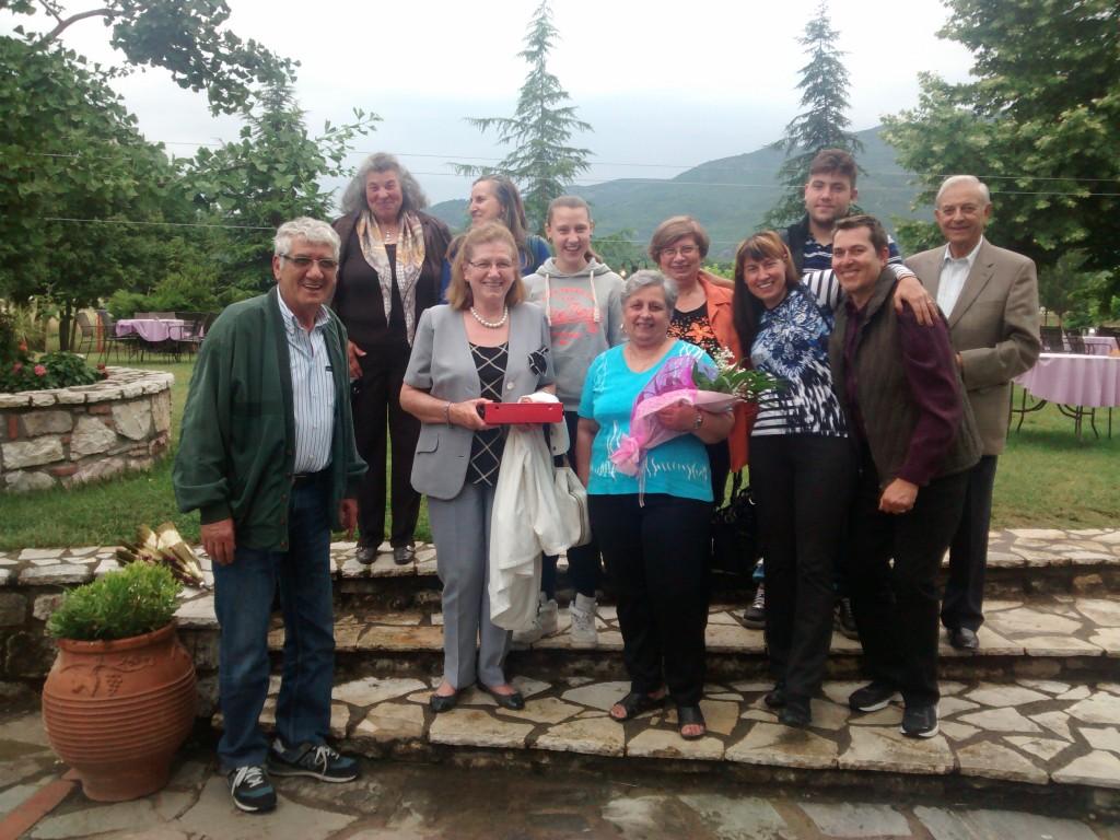 My uncles, aunts, cousins