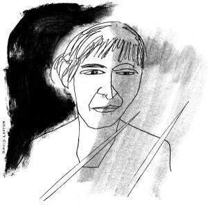Eleni Binge drawn by David (Mecca Normal)